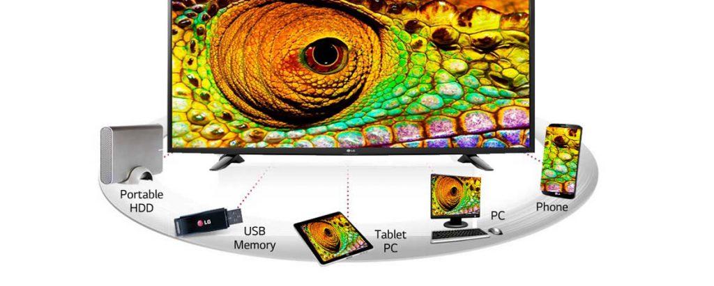 تلویزیون 43 اینچ فول اچ دی ال جی مدل 43LH510T