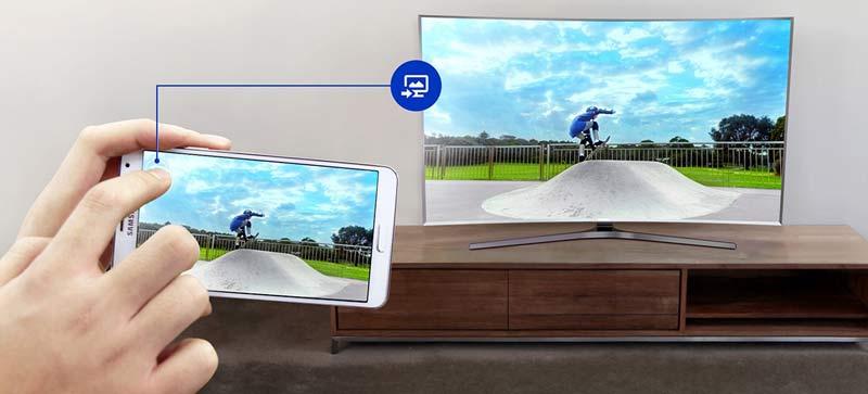 تلویزیون 50 اینچ سامسونگ 4K مدل 50KU7000