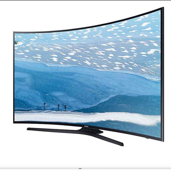 تلویزیون 55 اینچ منحنی و 4k سامسونگ مدل 55KU7350