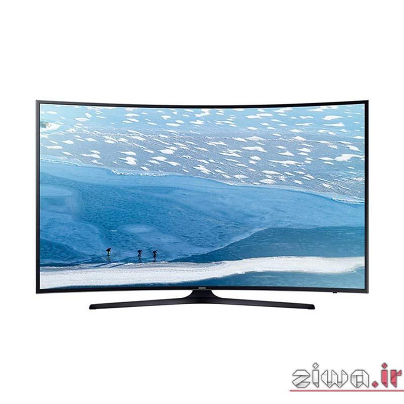 تلویزیون ۵۵ اینچ منحنی و ۴k سامسونگ مدل ۵۵KU7350