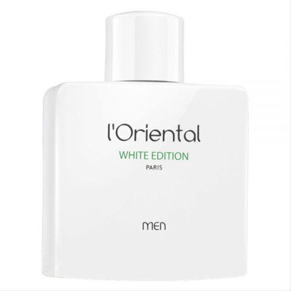 ادو تویلت مردانه جی پارلیس مدل l'Oriental White Edition حجم 100 میلی لیتر