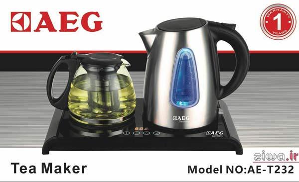 چای ساز استیل AEG مدل AE-T232