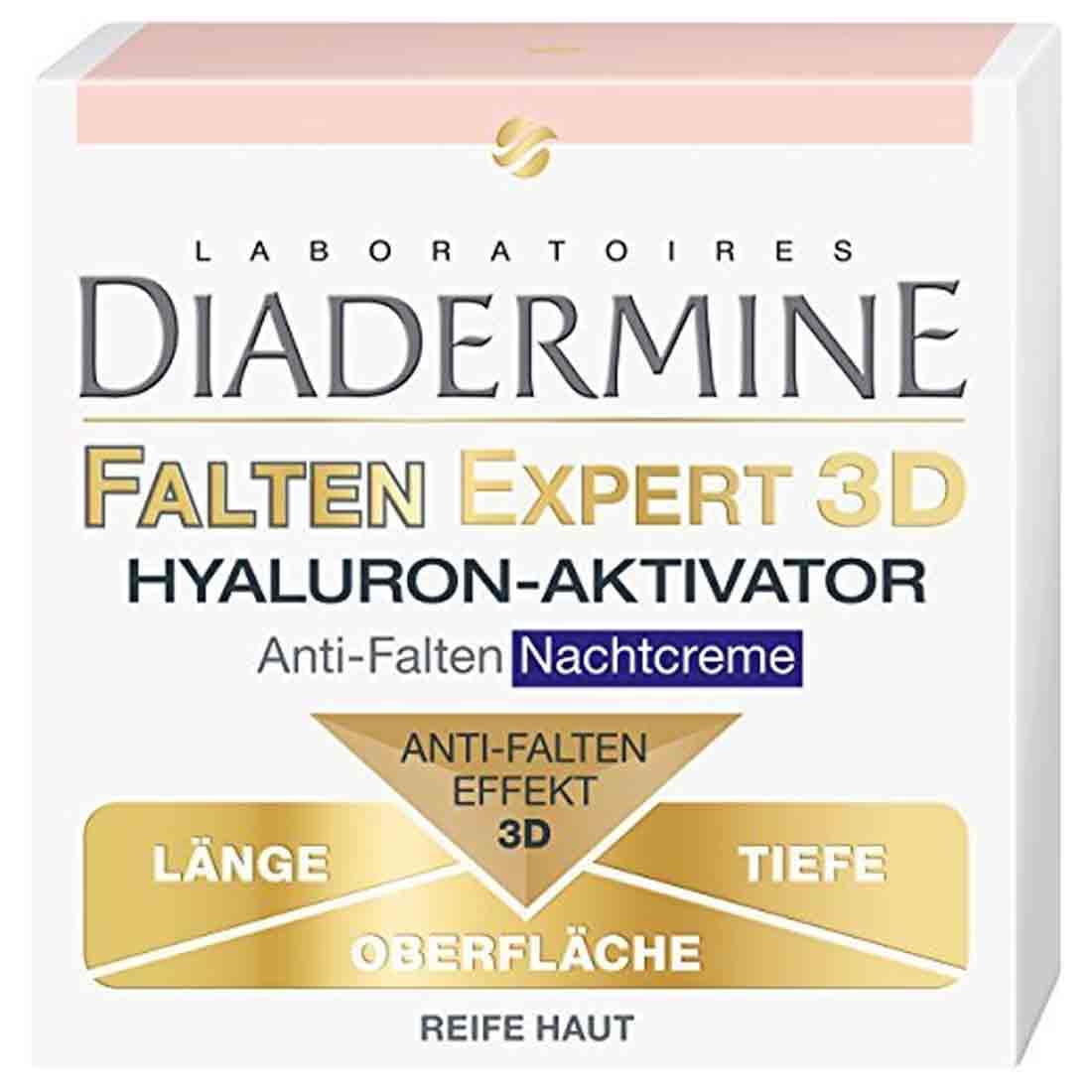کرم شب دیادرمین Diadermine مدل Expert 3D