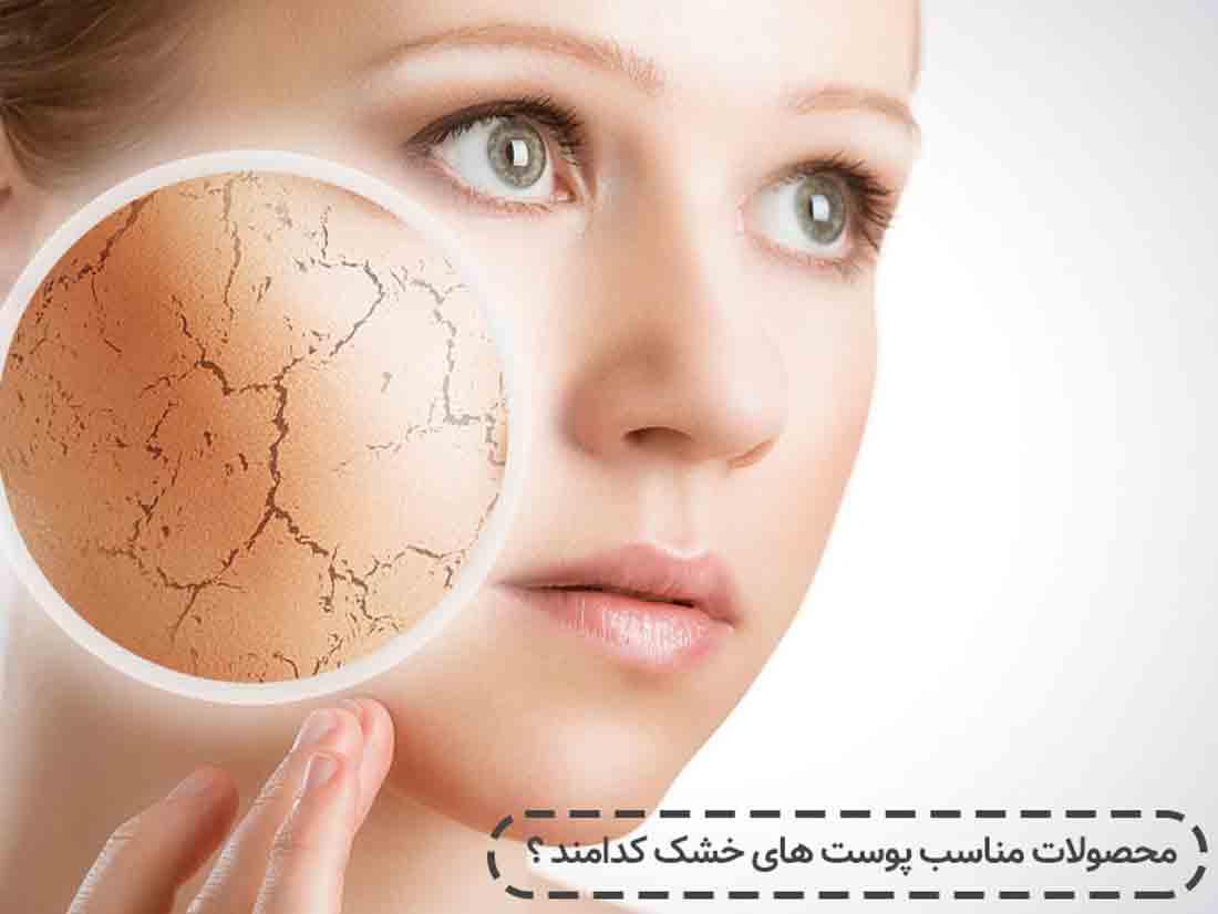 محصولات مناسب پوست های خشک کدامند ؟