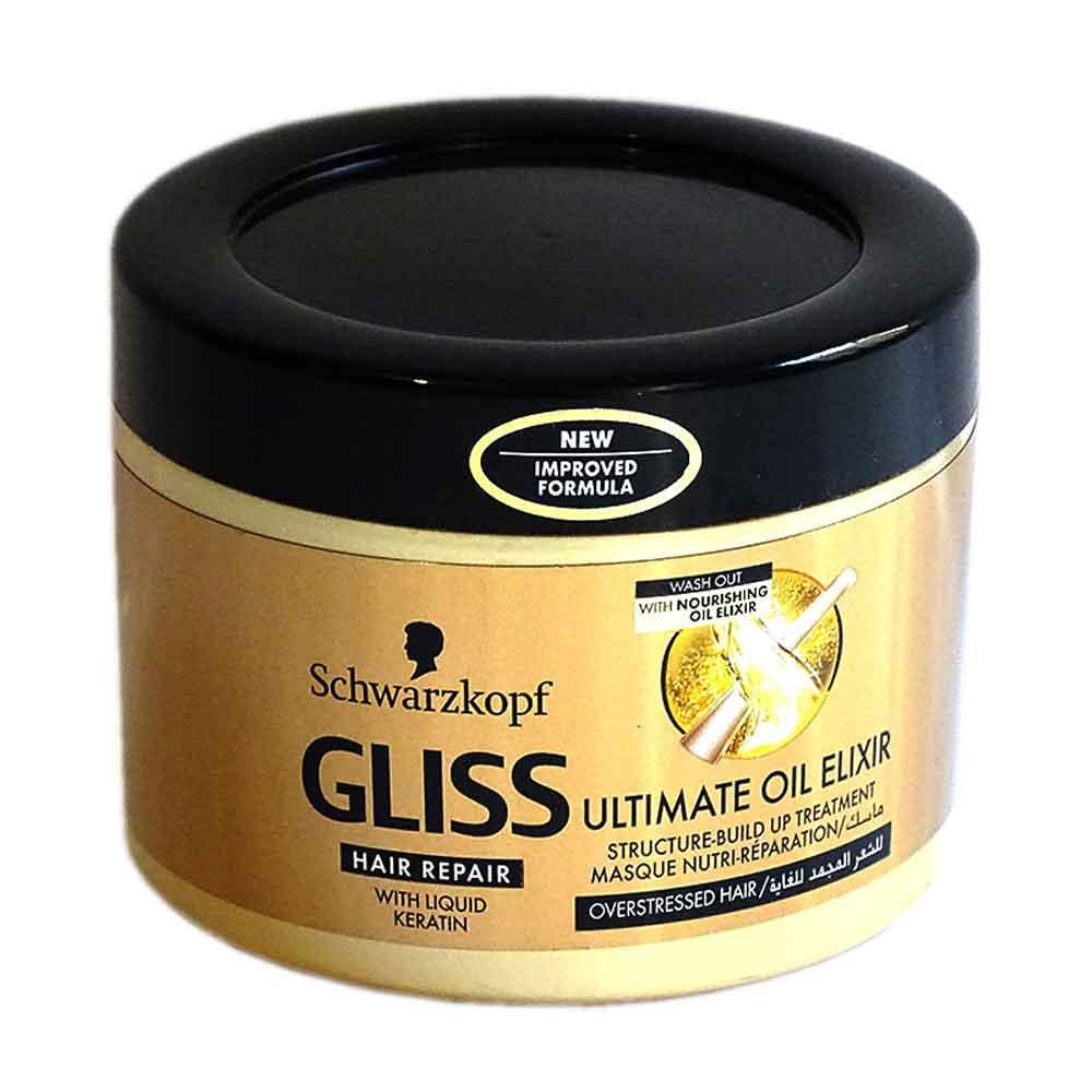 ماسک مراقبت مو گلیس GLISS : تولید آلمان 200ml