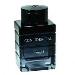 عطر و ادکلن مردانه کانفیدنتال برند جی پارلیس : GEPARLYS  CONFIDENTIAL