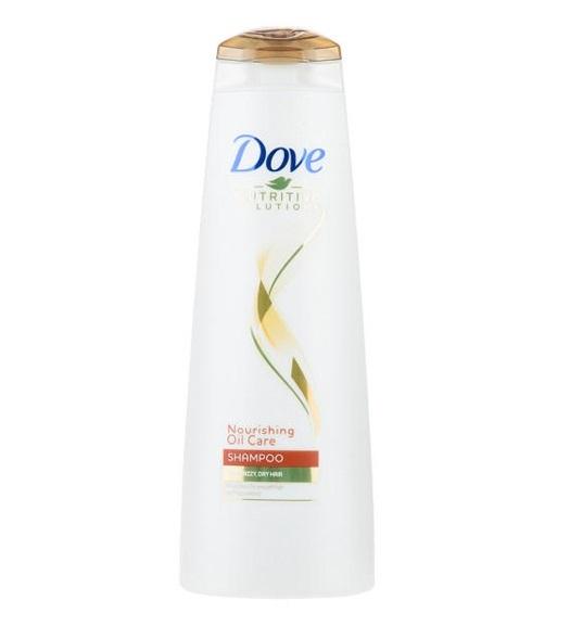 شامپو داو سری Nutritive Solution مدل Nourishing Oil Care مخصوص موهای خشک و زبر