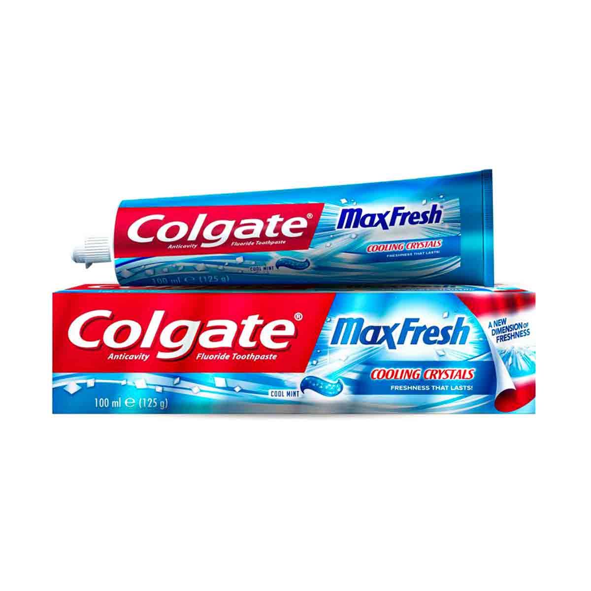 خمیر دندان کلگیت سری Max Fresh مدل Blue «آّبی»