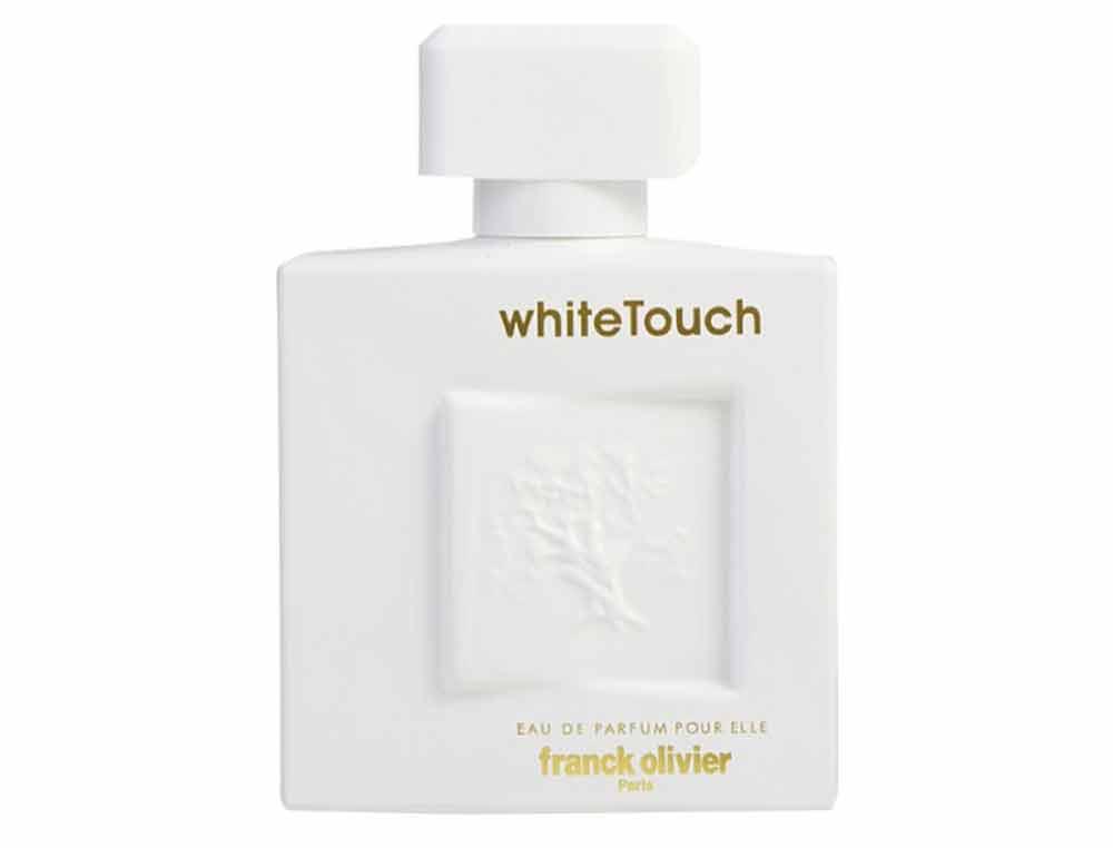 ادکلن زنانه وایت تاچ (white touch) برند فرانک الیور