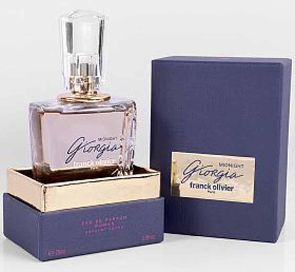 عطر و ادکلن زنانه جورجیا میدنایت «Midnight» فرانک الیور