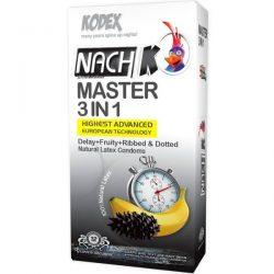 کاندوم تاخیری کدکس مدل Master 3 In 1 بسته ۳ عددی