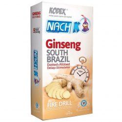 کاندوم تاخیری جینسینگ (Ginseng) کدکس بسته ۱۲ عددی