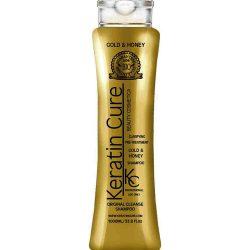 مایع کراتین طلا و عسل کراتین کیور Keratin Cure Gold And Honey حجم 1000 میلی لیتر