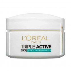 کرم آبرسان لورآل مدل Triple Active حجم ۵۰ میلی لیتر