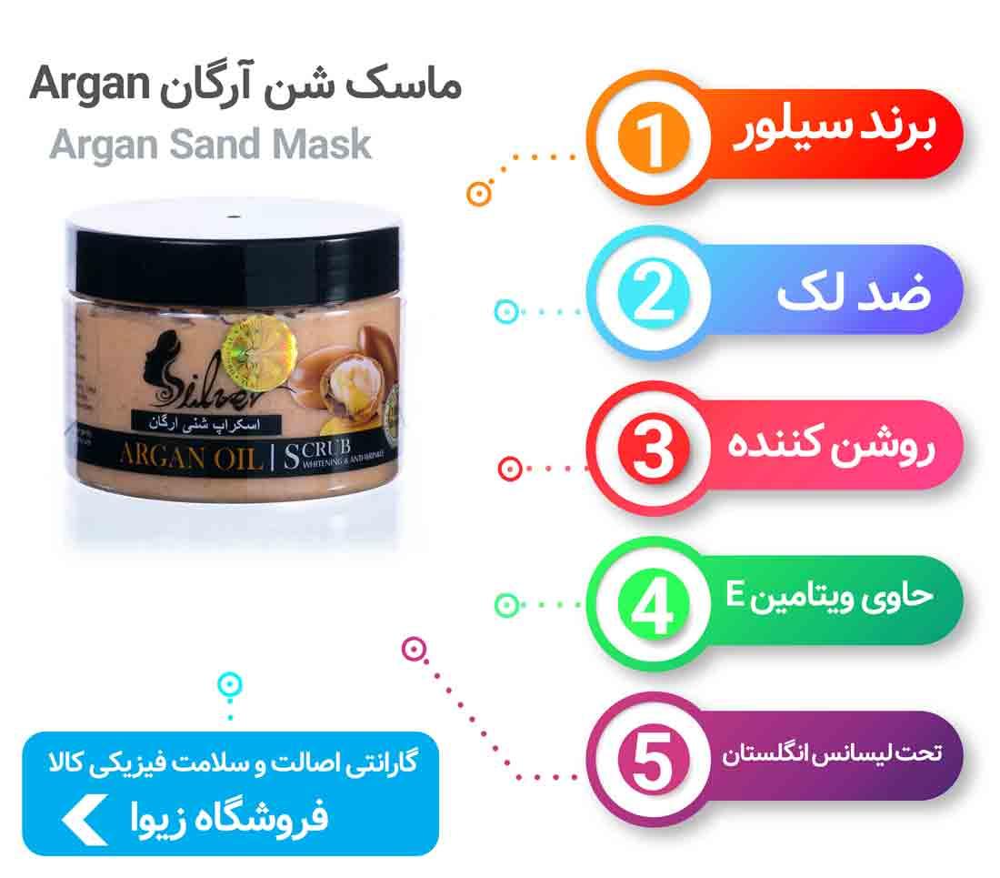 ماسک شن آرگان «Argan»
